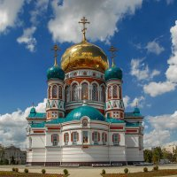 Свято-Успенский кафедральный собор в гор.Омске :: anatoly Gaponenko
