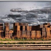 город из ящиков :: Natalia Mihailova