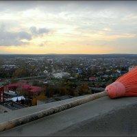 Передышка на крыше 18 этажа. Ох, и тяжек путь с шабаша! :: Надежда Ерыкалина
