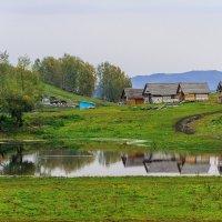 отражение на озере :: Галина Шепелева