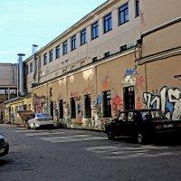 Граффити на старых стенах. :: Александр Лейкум