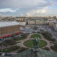 Исакиевский сквер и Исакиевская площадь :: Минихан Сафин