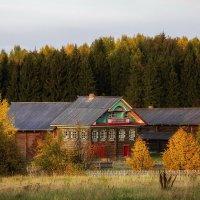 Осень в Семёнково :: Евгений Мазилов