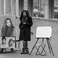 Портреты и художница. :: Александр Степовой