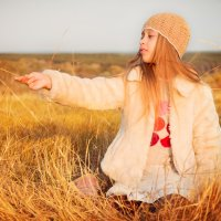 маленькая фея :: Nina Zaitseva