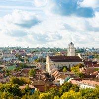 Вильнюс. Вид с Замковой горы на старый город. :: Инта