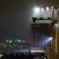 Ночная стройка :: Алексей Багашев