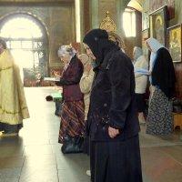 Задонск. Рождество - Богородицкий  монастырь. Служба. :: Игорь