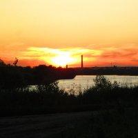 В лучах заката :: Андрей Снегерёв