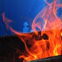 Завораживающее пламя! :: Ирина Олехнович