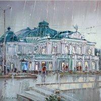 Картина Омского драматического театра :: Savayr