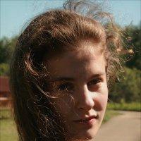 солнечный ветер :: Марина Буренкова