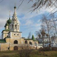 Предтеченский храм и Воскресенский мужской монастырь :: Galina Leskova