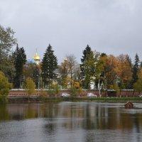 Осень на Келарском пруду в Сергиевом Посаде :: demyanikita