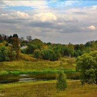 на берегу Москвы реки :: Дмитрий Анцыферов