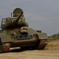 Т-34 на Кургане :: Максим Бочков