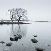 Берег Даугавы. Камни :: Эрнест Батурин