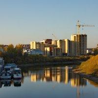 Октябрь на реке Вологда :: Татьяна Копосова