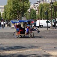 Такси в Париже :: Михаил Сбойчаков