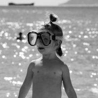 девочка..и море.. :: :)