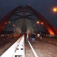Бугринский мост :: Наталья Золотых-Сибирская