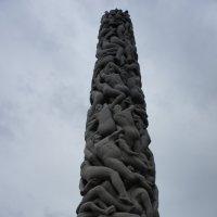 Парк Вигеланда. Монолит - колонна :: Елена Павлова (Смолова)