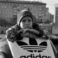 В кросовке Adidas :: Владимир Вышегородцев