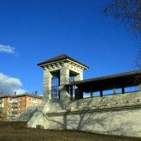 башенка из истории и акведука в Ростокино :: Олег Лукьянов