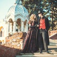 Любовь в стиле 19 века. :: Евгения Кудухова