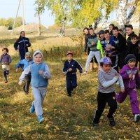 Осенний кросс открыли первоклассники! :: Алёна Родионова