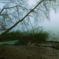 Утро. Озеро. Туман. :: Михаил ЯКОВЛЕВ