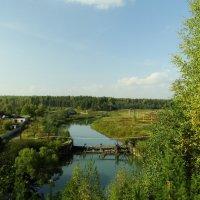 река Мера, плотина :: Михаил Жуковский