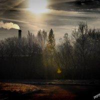 """природа заката ядерной зоны :: PHOTO COMPOSITION """" FOC """""""