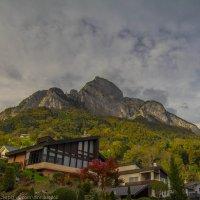 Деревня Сарганс, Швейцария :: Александра Зеро
