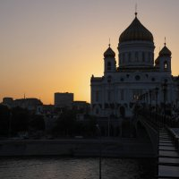 Храм Христа Спасителя :: Ирина Корнеева