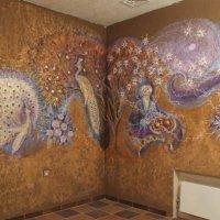 Роспись кафе в восточном стиле и цветах кофе :: Александр Петров