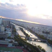 Париж с Эйфелевой башни :: Наталья