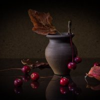 октябрь :: зоя полянская