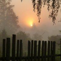 Рассвет в деревне :: Елена Грошева