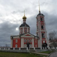 Собор Троицы Живоначальной в Троице-Сергиевом Варницком монастыре :: Galina Leskova