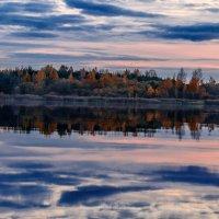 Шумилинское озеро в октябре. :: Анатолий Клепешнёв