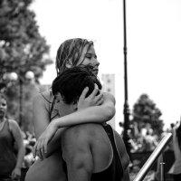 Маргарита Денисенко - Жизнь молодежи. Флэшмоб водная битва :: Фотоконкурс Epson