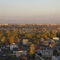 В лучах Октябрьского заката :: Виктор Калабухов