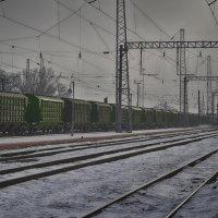 Вокзал :: Михаил Ефимов