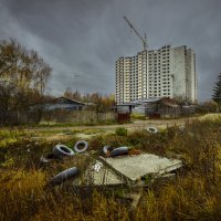 Постиндустриальный пейзаж №1 :: Юрий Морозов