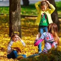 Осенняя фотосессия :: Николай Николенко