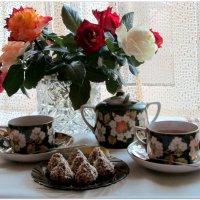 Утро с осенними розами... :: Тамара (st.tamara)