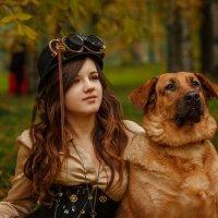 Дама с собачкой:) :: Ростислав Бычков