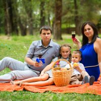 Семья-самое тёплое место в мире) :: Анастасия Бондаренко