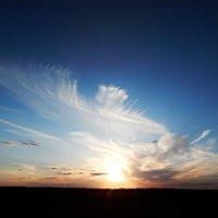 Удивительные облака :: Валентина Пирогова